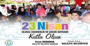 Başkan Demirkol'un 23 Nisan Mesajı