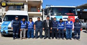 Ceylanpınar Belediyesi Yeni Araçlarını Tanıttı