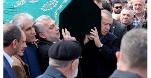 Erdoğan, Metin Külünk'ün Amcasının Cenaze Törenine Katıldı