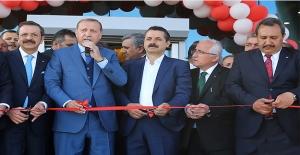 Erdoğan Şanlıurfa Ticaret Borsasını Açtı