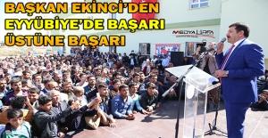 Eyyübiye'deki Başarılı Belediyecilik Sandığa Yine Yansıdı