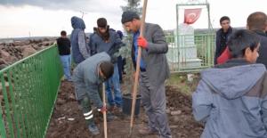 Siverek Belediyesi Şehidini Unutmadı