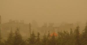 Suriye'den Gelen Toz Bulutu Şanlıurfa'da Etkili Oldu