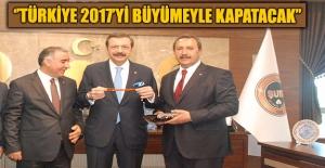 TOBB Başkanı Hisarcıklıoğlu Başkan Kaya'yı Ziyaret Etti