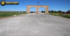 Viranşehir'de Otogar Sahası Asfaltlandı