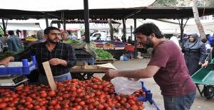 ''Baharlık Üretimlerle Domates Fiyati Gerileyecek''