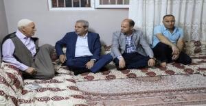 Başkan Demirkol Şehit Ailelerini Unutmadı
