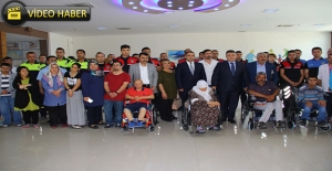 Emniyet'ten Engellilere Tekerlekli Sandalye