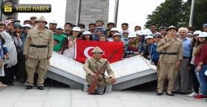 Haliiyeli Öğrenciler Çanakkale'de