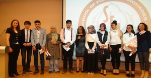 HRÜ Yabancı Diller Yüksekokulu'nda 25. Yıl Temalı Yıl Sonu Etkinliği