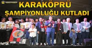 Karaköprü Belediyespor'da Coşkulu Kutlama