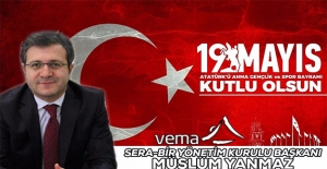 Müslüm Yanmaz'dan 19 Mayıs Mesajı