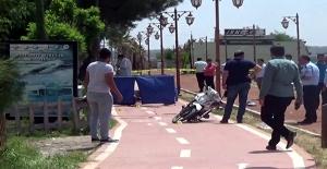Yola Gerilen İpe Takılarak Düşen Motosiketli Öldü