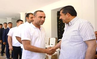 Başkan Atilla Vatandaşlarla Evinde Bayramlaştı