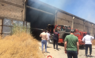 Çırçır Fabrikasında Yangın Çıktı