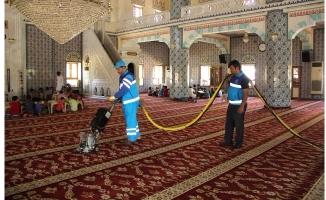 Eyyübiye'de İbadethaneler Temizleniyor