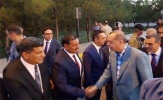 Özyavuz, Erdoğan'ı Urfa Misafirperverliği ile Ağırladı