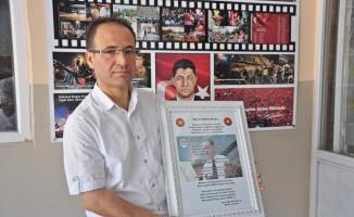 Cumhurbaşkanı Erdoğan şiirini okudu gururlandı