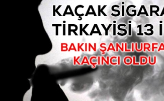 Emniyet Raporuna Göre Kaçak Sigara Tirkayisi İller