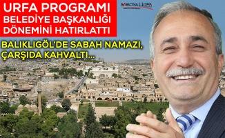 Fakıbaba'nın Şanlıurfa Programının Tüm Ayrıntıları