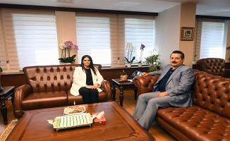 Faruk Çelik, Bakan Sarıeroğlu'nu Ziyaret Etti