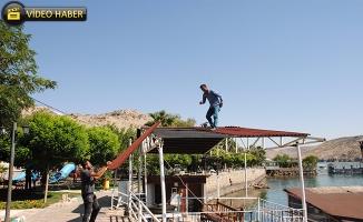Halfeti'de Kaçak Yapıya Geçit Yok
