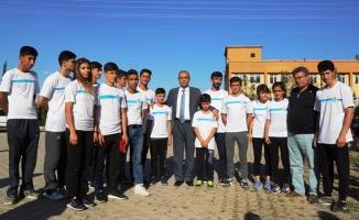 Haliliye Belediyesi Sporcuları Uğurladı