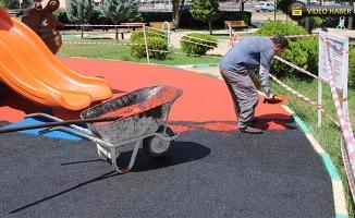 Haliliye'deki Parklar Yenileniyor