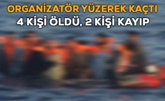 İzmir'de Göçmen Botu Battı