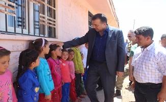 Kaymakam Demirel Katledilen Öğretmenin Öğrencilerini Ziyaret Etti
