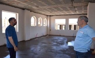 Siverek'te Taziye Evi Yapımları Sürüyor