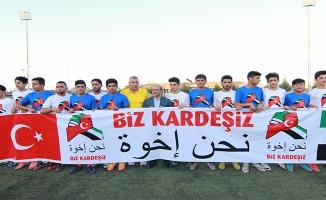 Urfa'da Türk ve Suriyeliler ''Biz Kardeşiz'' Maçında Buluştu