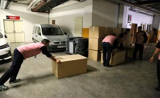 Urfa'da hastanenin temizlik araç gereçleri haczedildi