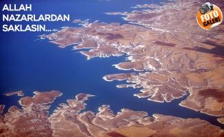 Barajların Efendisi Atatürk Barajına Gökyüzünden Bakış