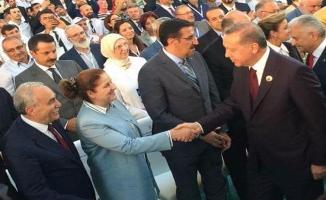 Fakıbaba AK Parti'nin Kuruluş Yıl Dönümüne Eşiyle Birlikte Katıldı