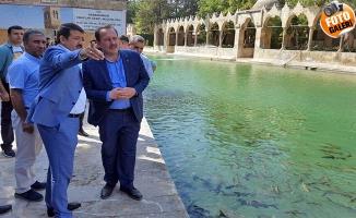 Harun Karacan Balıklıgöl'ü Ziyaret Etti