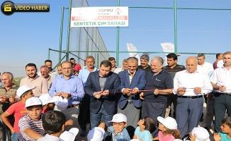 Karaköprü Kırsalında Gençlere Spor Yatırımı Sürüyor