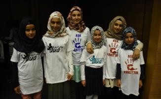 Kur'an eğitimini tamamlayan çocuklar şenlikte buluştu