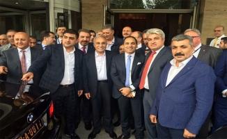 Urfalı iş adamları Bakan Fakıbaba'yı Sırbistan'da yalnız bırakmadı