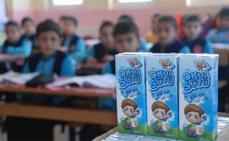 32 bin okulda 6 milyon öğrenciye süt dağıtılacak