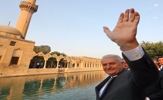 Başbakan Yıldırım, Balıklıgöl'ü Gezdi
