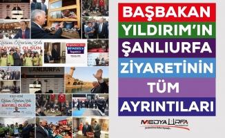 Başbakan Yıldırım Şanlıurfa'dan Mutlu Ayrıldı