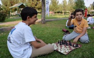 Ceylanpınar'da ''Sokakta Satranç Oynuyoruz'' Etkinliği