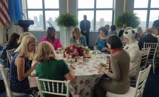Emine Erdoğan, Melania Trump'ın Verdiği Yemeğe Katıldı