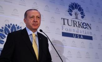 Erdoğan, ABD'de Yaşayan Türklerle Buluştu