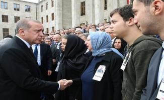 Erdoğan, Yüksel'in Cenaze Törenine Katıldı