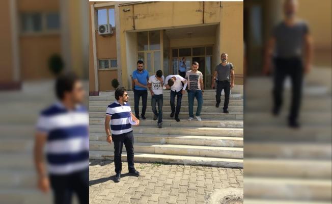 Ergani'de hırsızlık zanlısı 3 kişi tutuklandı
