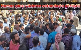 Fakıbaba Vatandaşların Taleplerini Dinledi