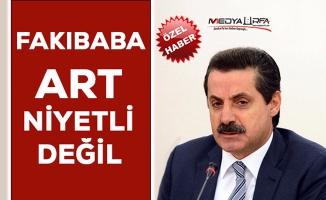 Faruk Çelik, Bakan Fakıbaba ile ilgili MEDYAURFA.COM'a konuştu