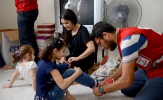 Harçlıklarını Arakan'a yollayan Suriyeli yetimlere destek